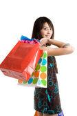Shopping girl — Stock Photo