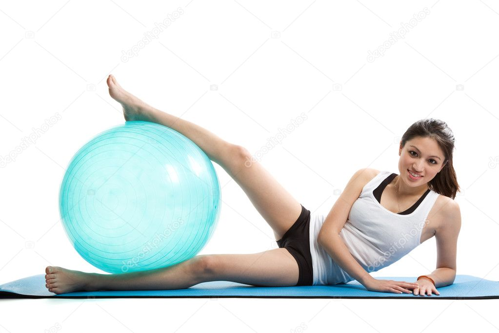 Sex on a yoga ball pic 12