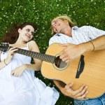 Happy caucasian couple — Stock Photo #5452780