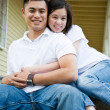 Happy asian couple — Stock Photo #5452916