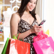Royalty-Free Stock Photo: Shopping woman