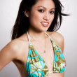 Bikini asian woman — Stock Photo