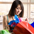 Royalty-Free Stock Photo: Shopping asian woman
