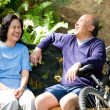 Senior asian couple — Stock Photo #5453274