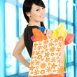 Shopping woman — Stock Photo #5453349