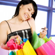 Shopping woman — Stock Photo #5453350