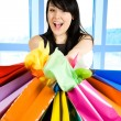Shopping woman — Stock Photo #5453357