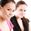 Stock Photo: Beautiful businesswomen
