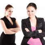Confident businesswomen — Stock Photo