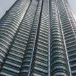 The famous petronas towers of malaysia — Stock Photo