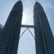 Petronas tower — Stock Photo