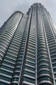 The famous petronas towers of malaysia — Stock Photo