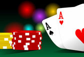 Texas holdem — Stock Photo