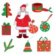 Christmas set — Stock Vector #4181949