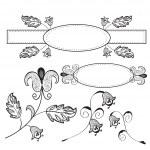 Vintage design floral elements — Stock Vector #4327713