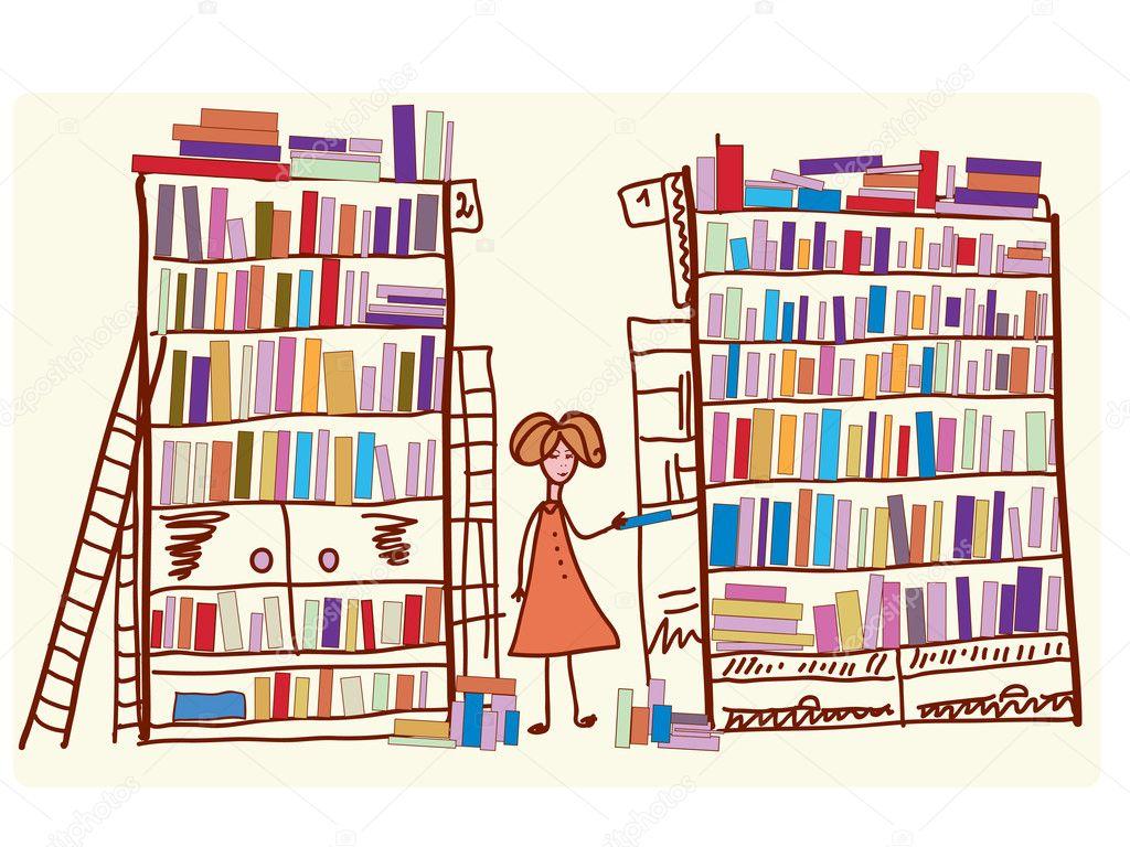рисунки к библиотечным выставкам