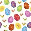 Easter seamless background — Stockvectorbeeld