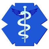 Medicine pharmaceutical sign — Stock Vector