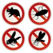 Royalty-Free Stock Vector Image: Vermin bugs