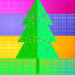 Stock Vector: To decorate Christmas tree