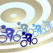 Cycling - Image vectorielle