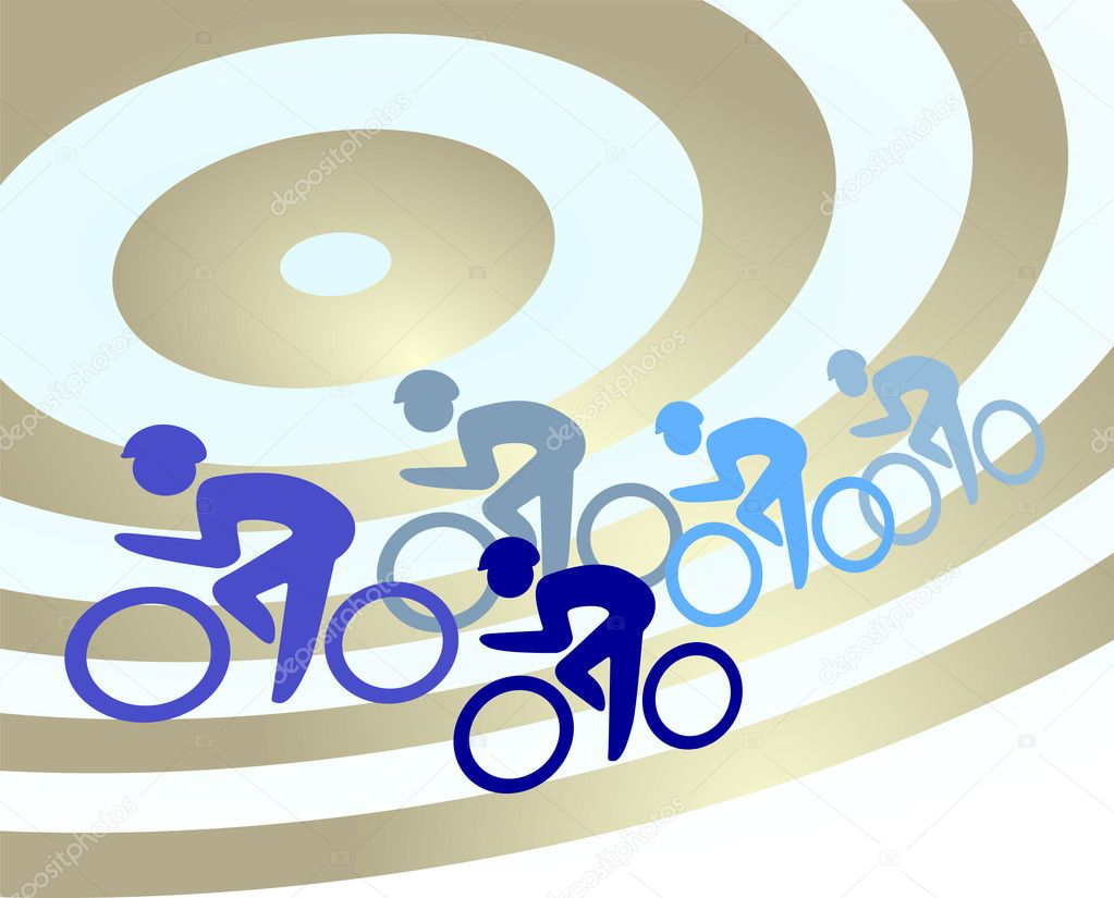 Cycling  Imagen vectorial #4090382