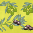Stock Vector: Olives