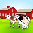Vector de stock : Farm-house