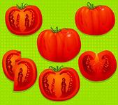 Tomatoes — Stock Vector