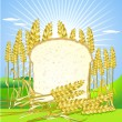 Royalty-Free Stock Vector Image: Bread and grain