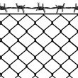 Royalty-Free Stock Vector Image: To put up a fence