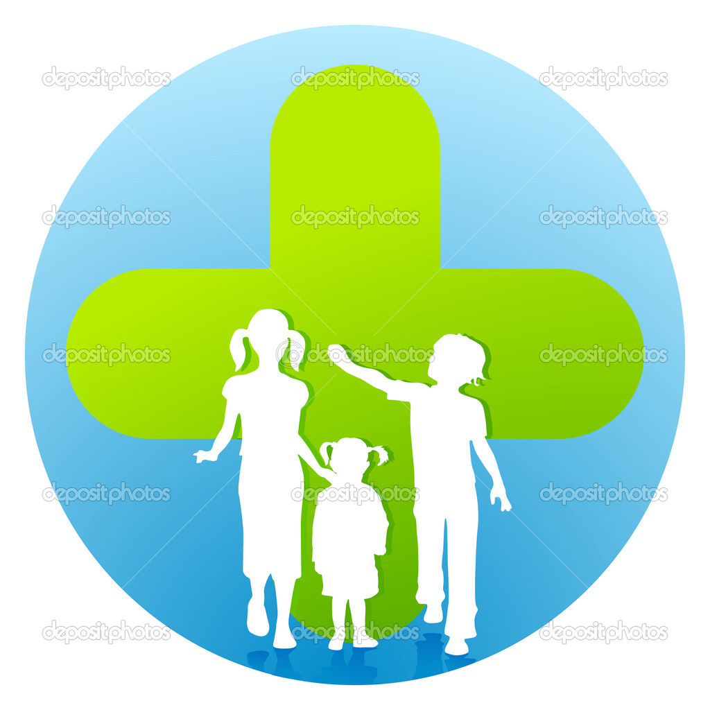 Pediatrician children's clinic  Stock Vector #5149567