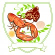 Lobster and Steak - Stock Vector