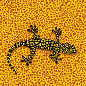 Salamander camouflage — Stock Vector