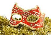 Máscara de carnaval veneziano — Fotografia Stock