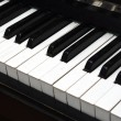Piano Key close up shot — Stock Photo #4440040