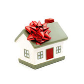 House as a gift for you — Stock Photo