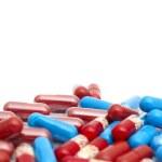 Macro of medical pills — Stock Photo