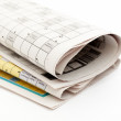 Royalty-Free Stock Photo: Newspaper