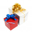 Holiday gift boxes — Stock Photo #4585782