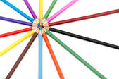 Color Wheel Close Up — Stockfoto