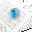 Financial Papers — Stock Photo