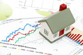Housing market concept image — Stock Photo