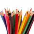 A bunch of color pencils — Stock Photo