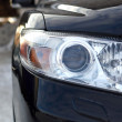 Automobile front optics — Stock Photo