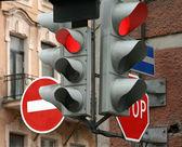 Semáforos — Foto Stock