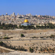 Panorama the old city Jerusalem — Stock Photo #4309130