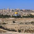 Panorama the old city Jerusalem — Stock Photo