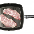 Stock Photo: Porterhouse steak