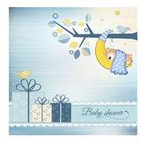 Baby shower announcement — Stock Vector